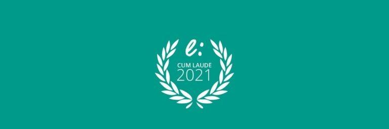 Nos han otogrado el sello cum laude a la excelencia de ielogis